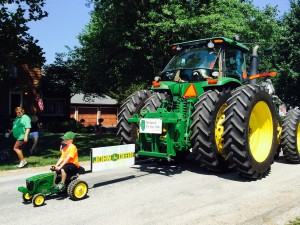 Noland Farms parade entry won 1st in our division!